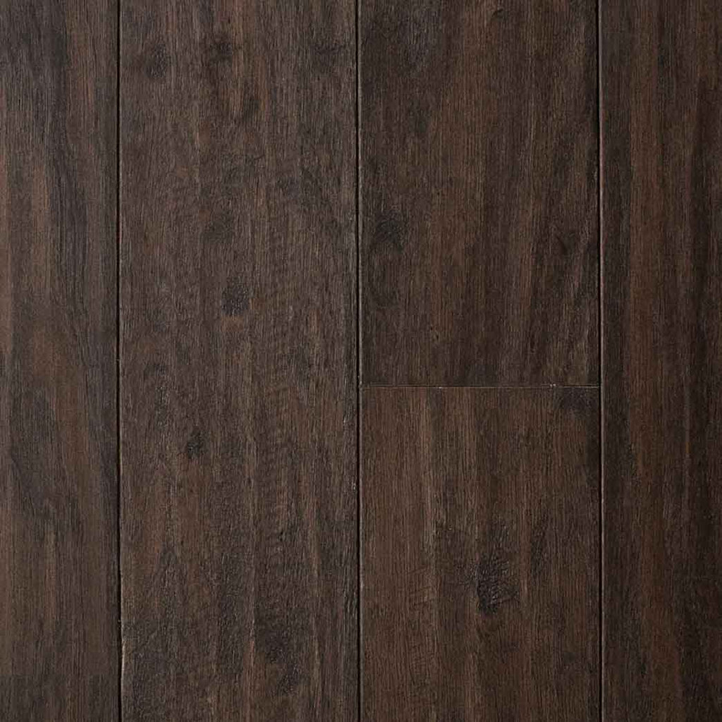 "Mullican Aspen Grove Espresso 21060 Hickory 5"" Hand-sculpted 1/2"" Engineered Hardwood Flooring"