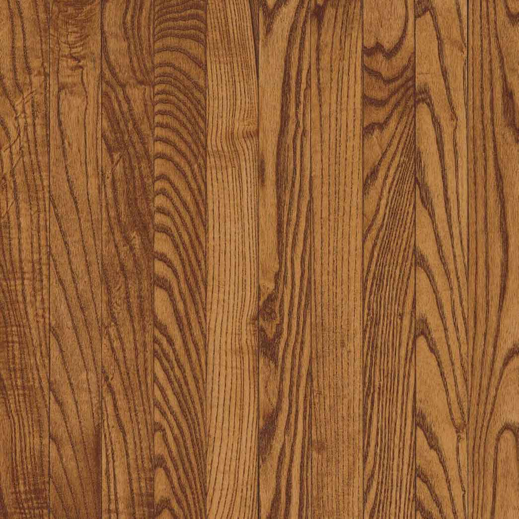 "Armstrong-Yorkshire Collection 2.25"" Wide BV631AU-Auburn Solid Oak Hardwood Plank"