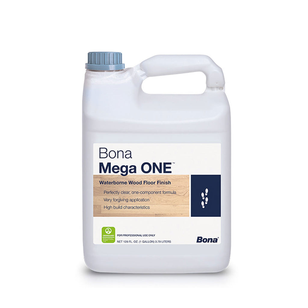 Bona Mega ONE waterborne hardwood floor finish