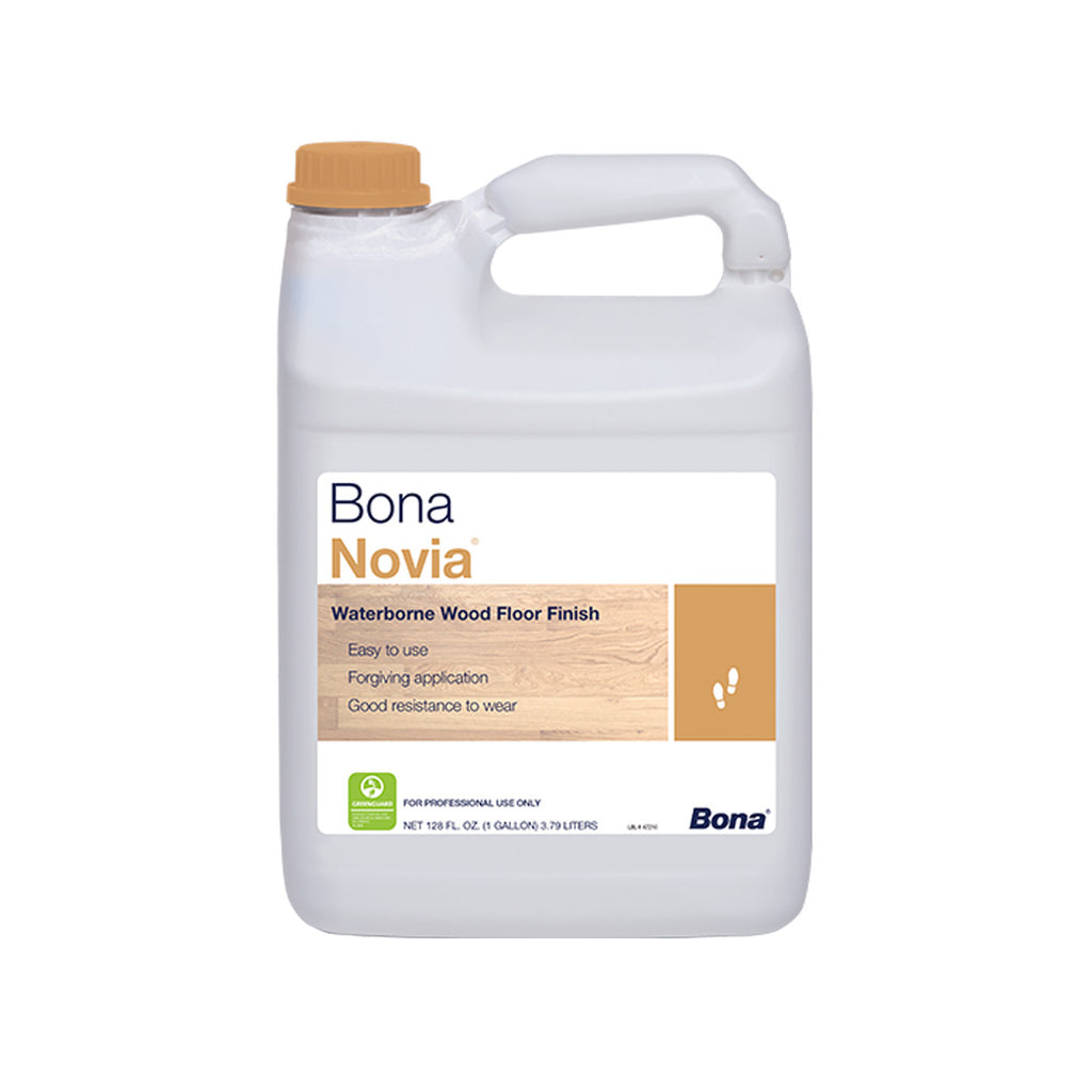Bona Novia Waterborne Wood Floor Finish 1 Gallon