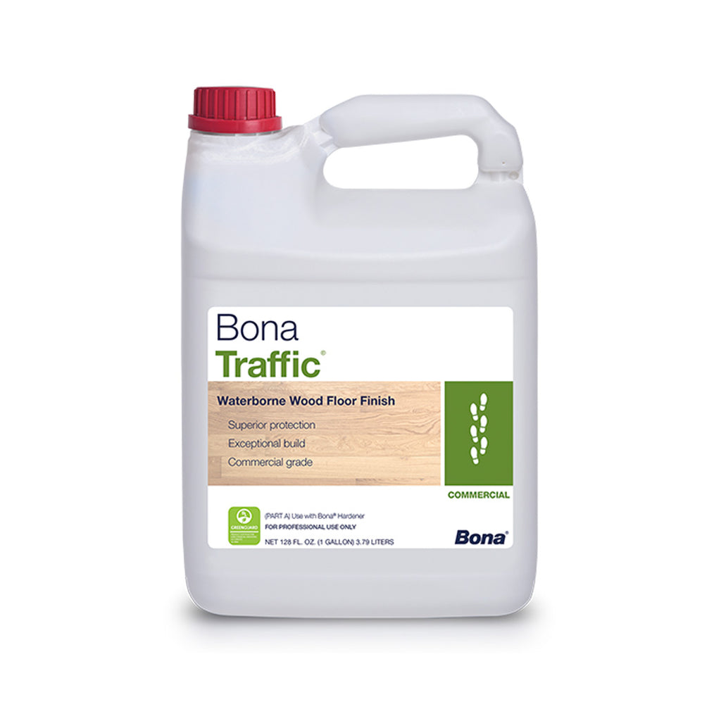 Bona Traffic Commercial Water-Based Wood Floor Finish 1 Gallon