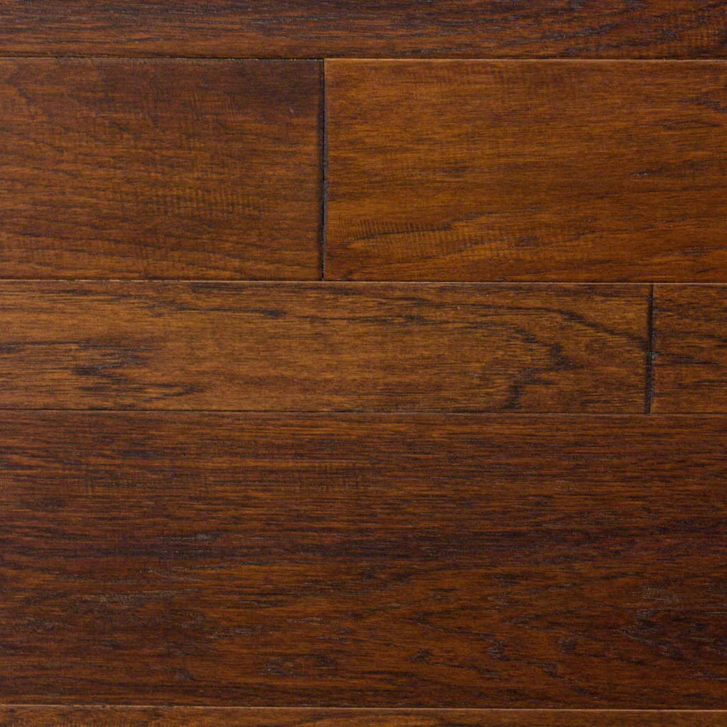"Xulon Braelinn Collection Canyon Hickory 3"", 5"" and 7"" Random Width 3/8"" Thick Engineered Hardwood Flooring"