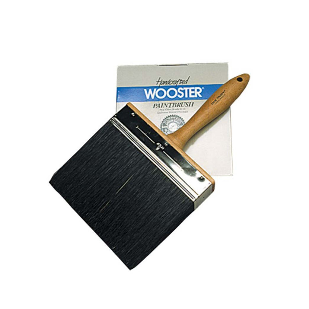 "Wooster Black China Bristle Brush 6"" AT0001552"