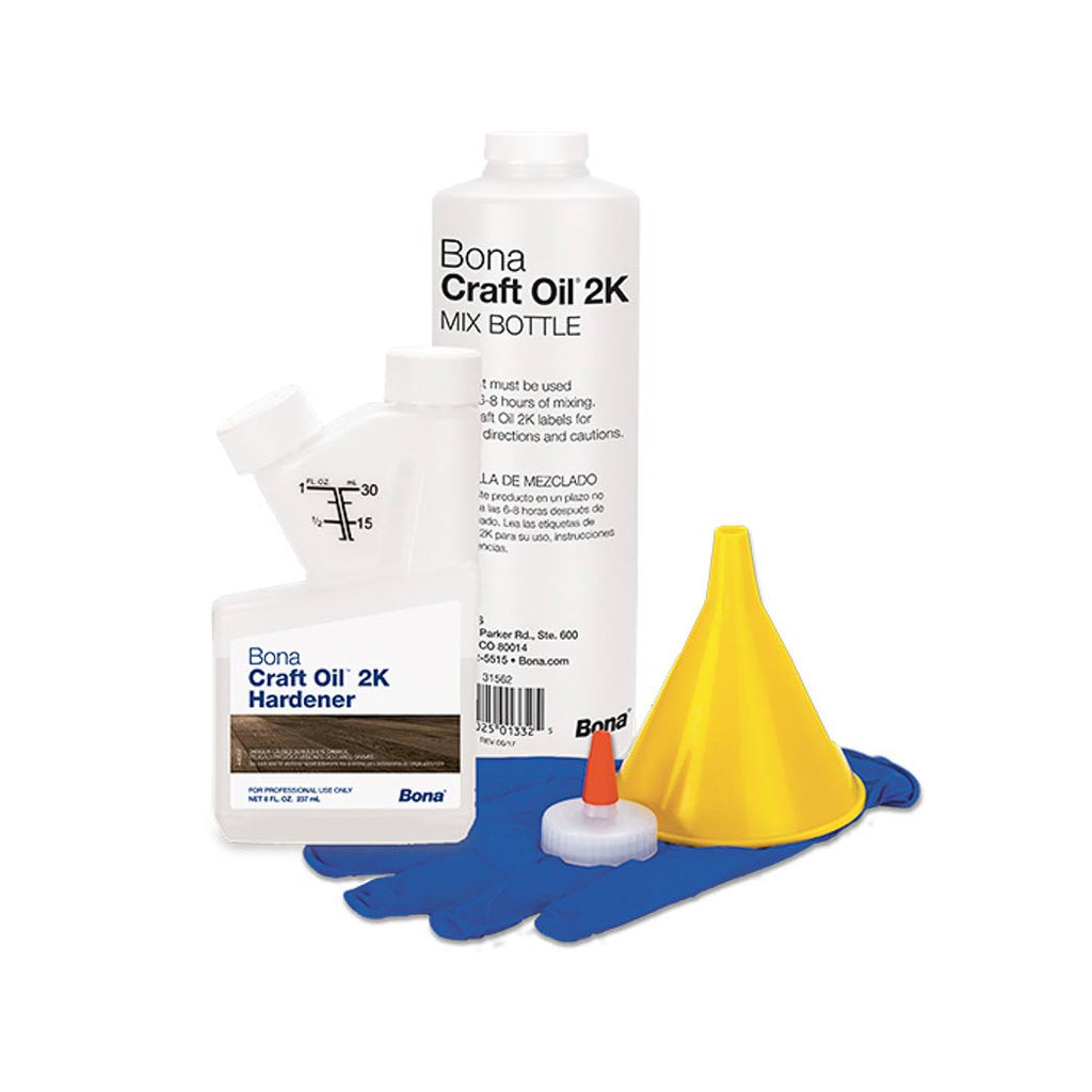 Bona Craft Oil 2K Mix Bottle Kit WM710013509