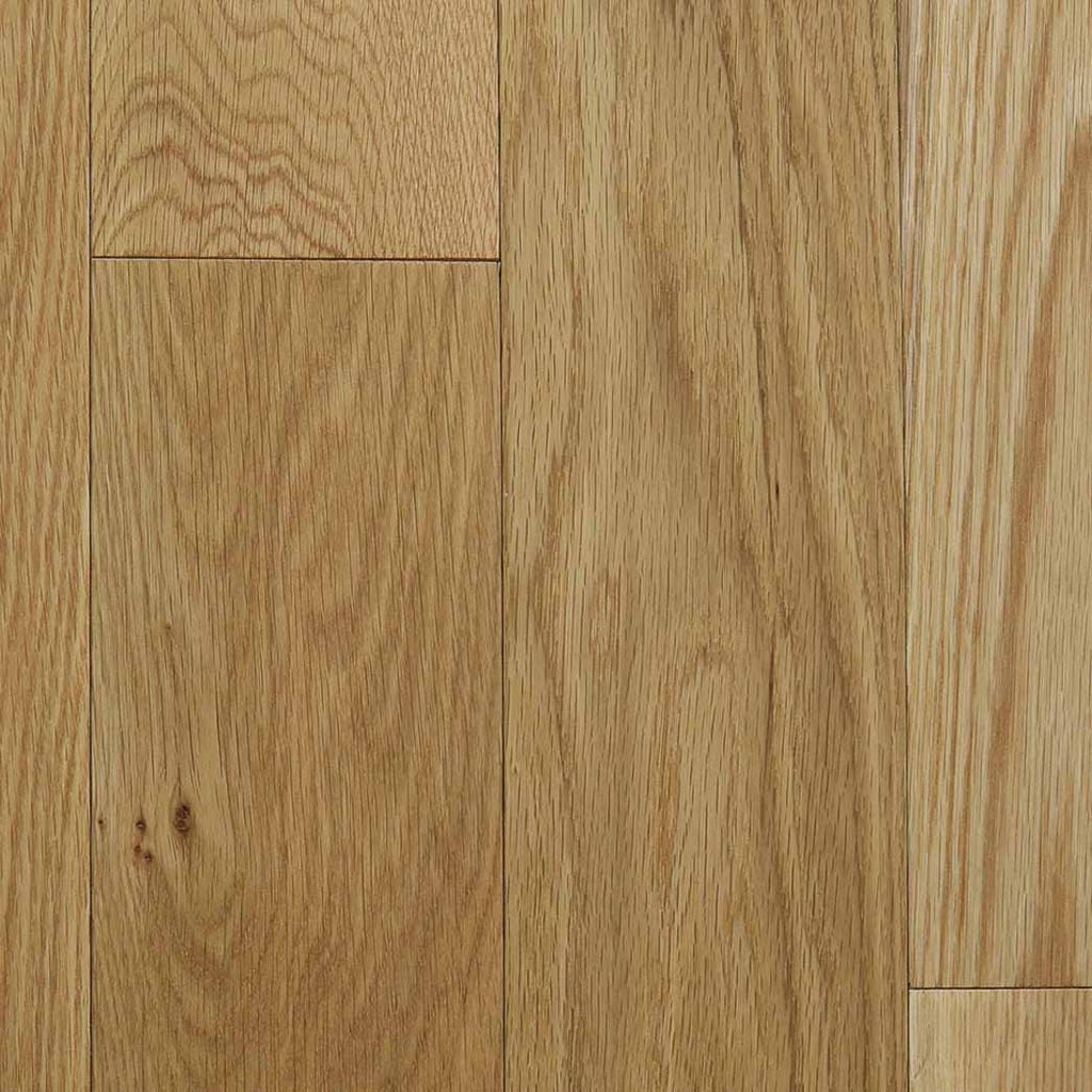 "Natural 21917 Mullican Dumont White Oak 5"" Smooth 1/2"" Engineered Hardwood Flooring"