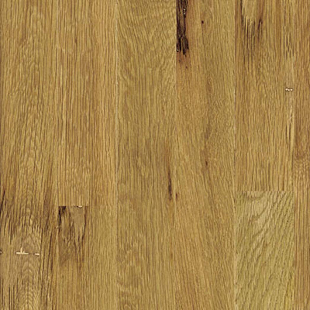 "Unfinished White Oak #1 Common 5"" Wide 3/4"" thick Plank Solid Hardwood Xulon Flooring"