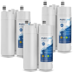 Electrolux EWF01 Water Filter Replacement with Advanced Filtration. Compatible with Electrolux EWF01 , FC-300, FC300, EFF-6018A, 241988703. Triple Action Filtration with Advance Carbon Block. (3 Pack)