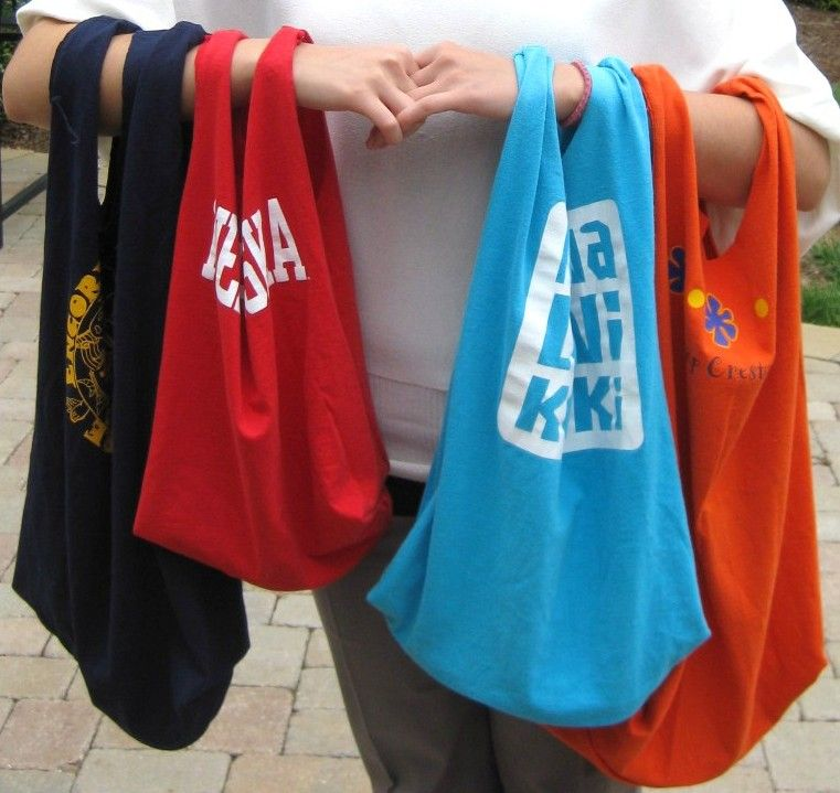 make your own T shirt bag