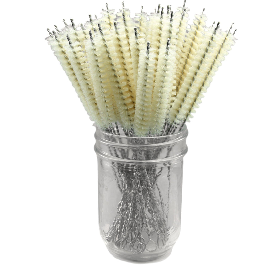 Sisal Bristle Cleaning Brush - Glass Sipper