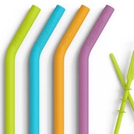 Softy Food-Grade Silicone Straws - Glass Sipper