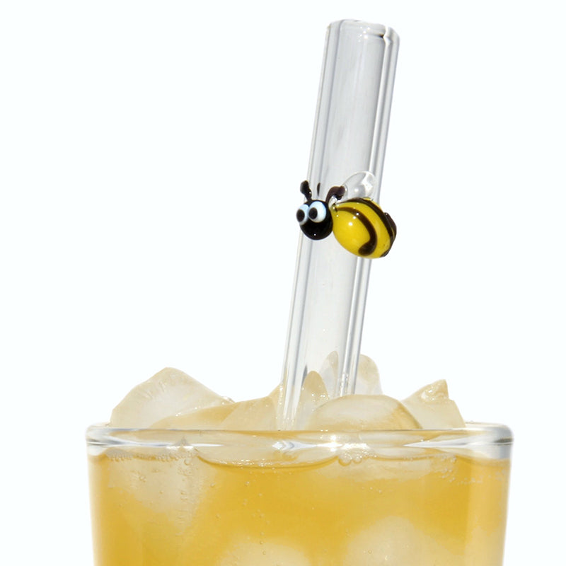 bumblebee reusable glass straw