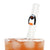 Penguin Reusable Glass Drinking Straws