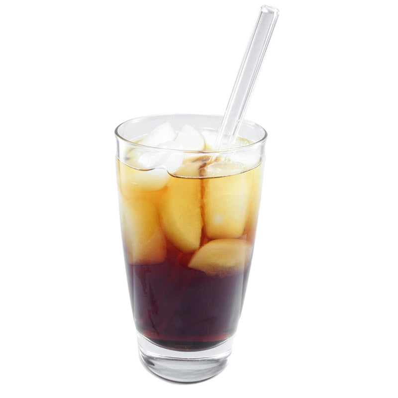 Glass Straws Regular 9.5mm Reusable Glass Drinking Straws - GlassSipper