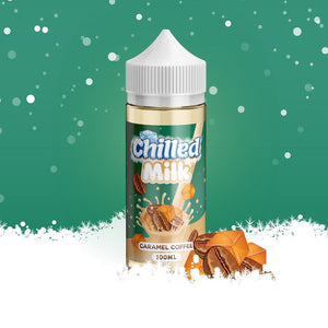 Chilled Milk - Caramel Coffee, E-Juice, - Tasty Cloud Vape Co.