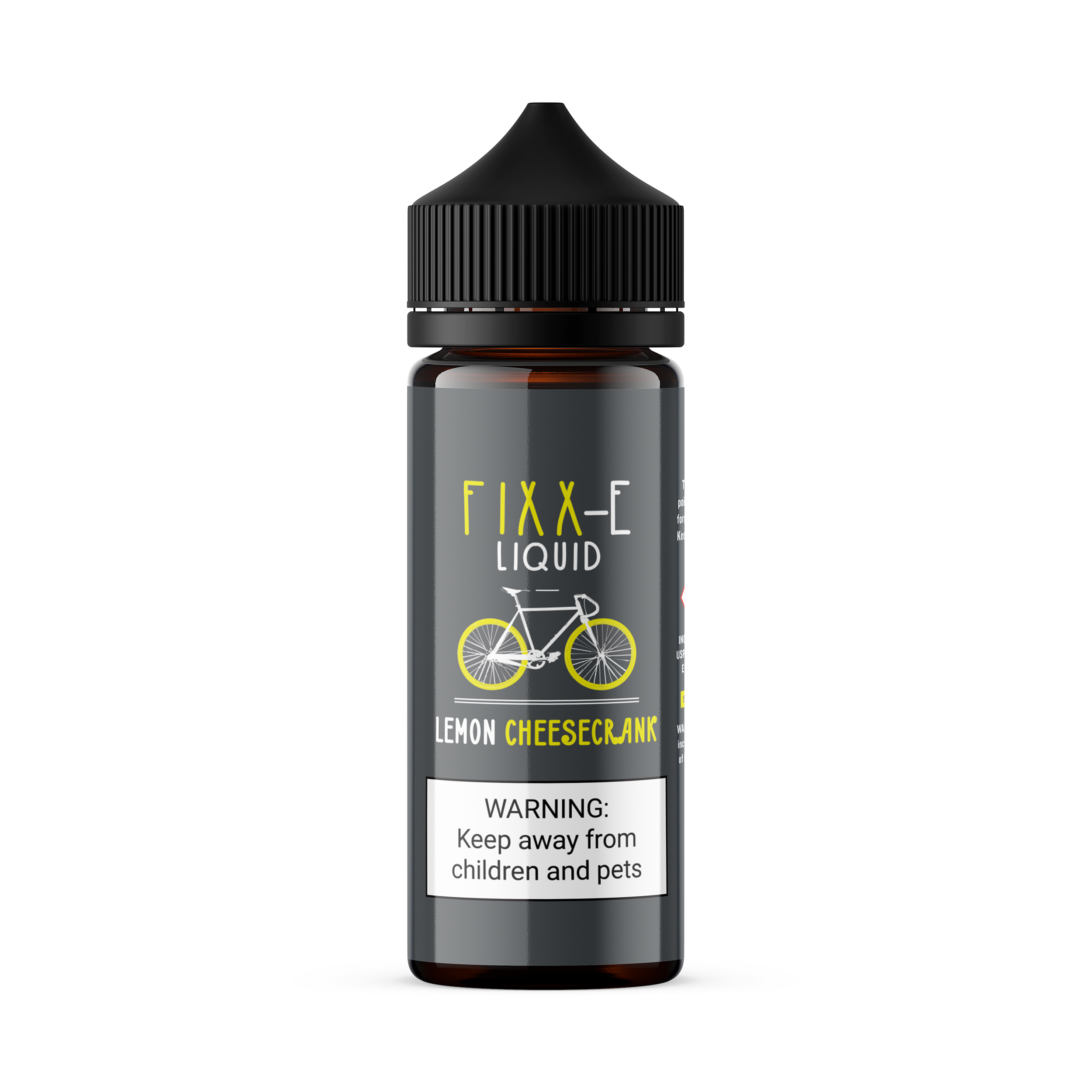 Tasty Cloud Vape Co - Fixx-E - Lemon Cheesecrank