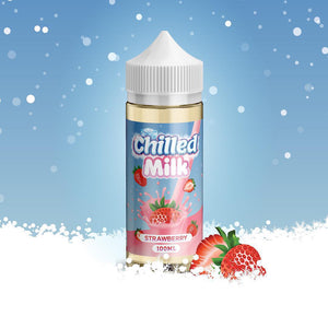 Chilled Milk - Strawberry, E-Juice, - Tasty Cloud Vape Co.
