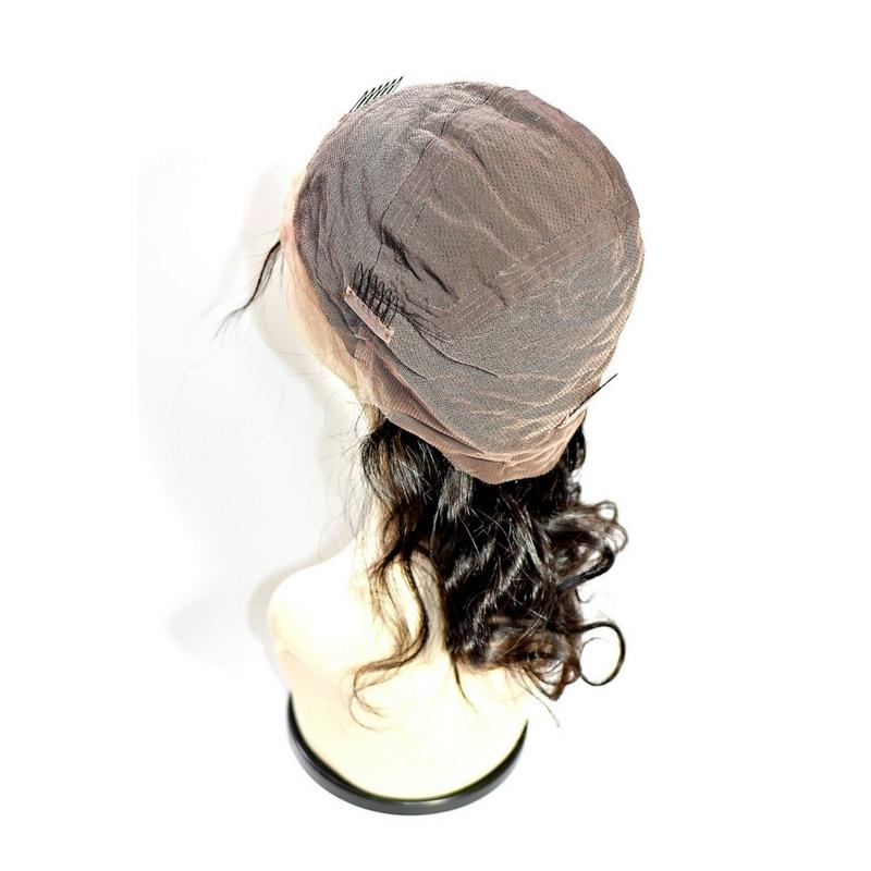 Brazilian Body Wave Full Lace Wig (130% Density)