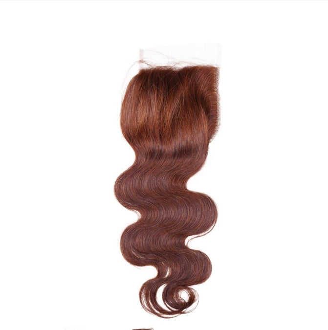 Chestnut Blonde Body Wave Closure