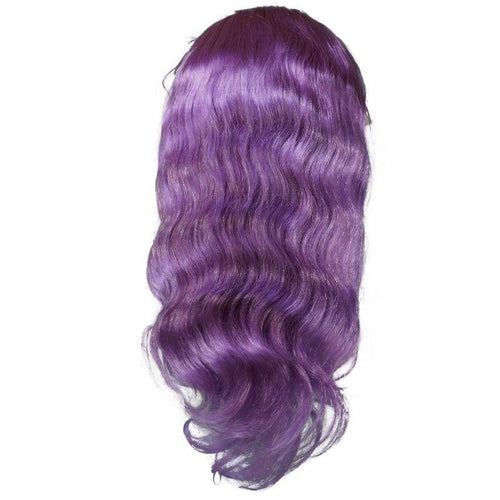 Lilac Body Wave Lace Front Wig