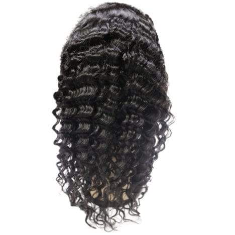 Brazilian Deep Wave Lace Front Wig (150% Density)