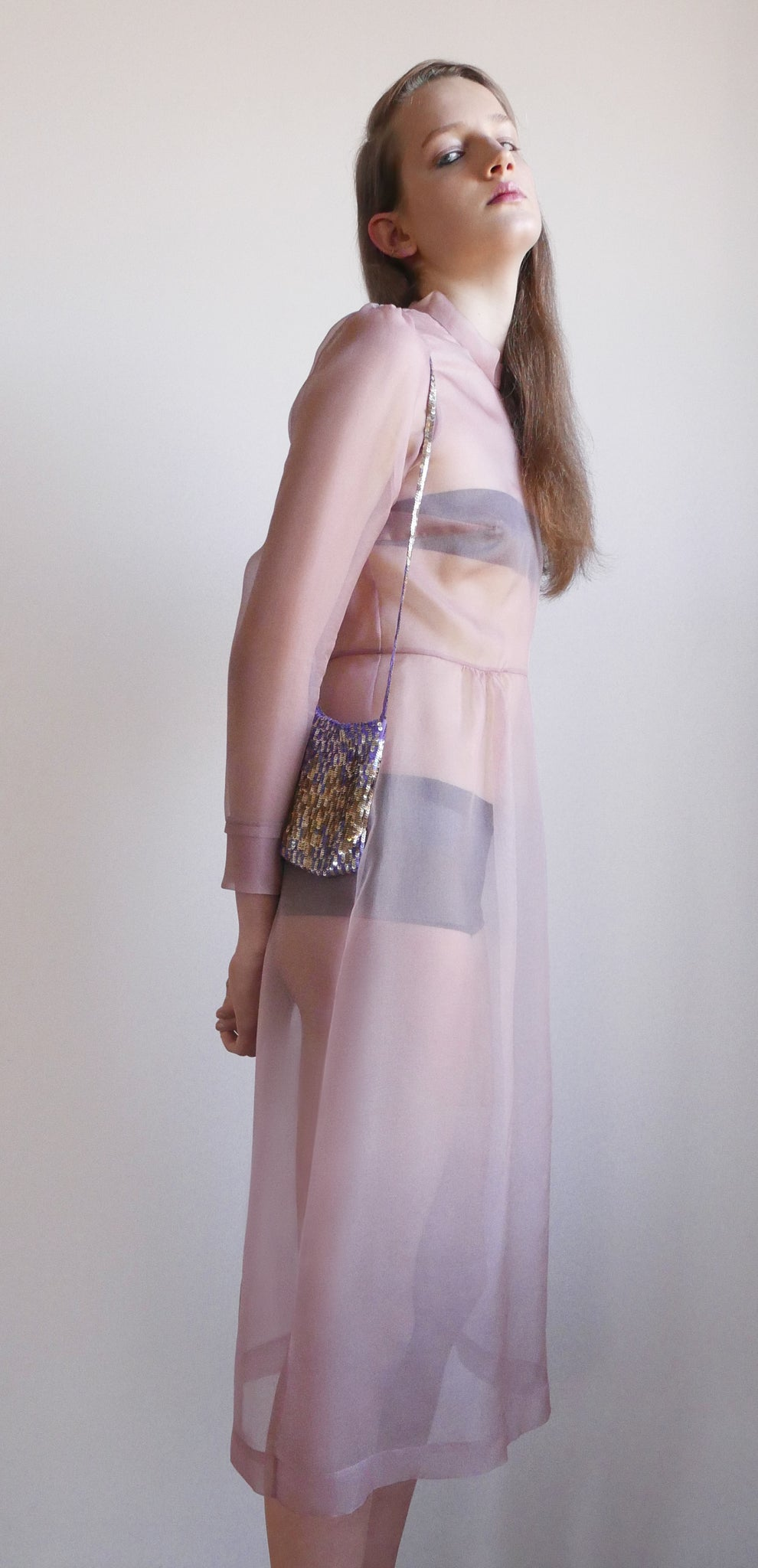 Pale Organza dress