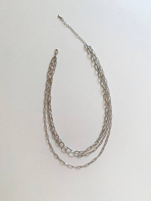 Mixed Chains Necklace