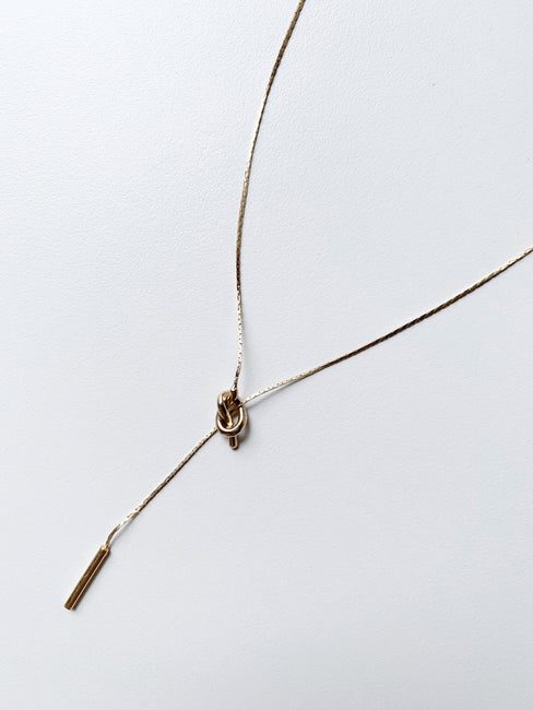 Knotted Dainty Necklace