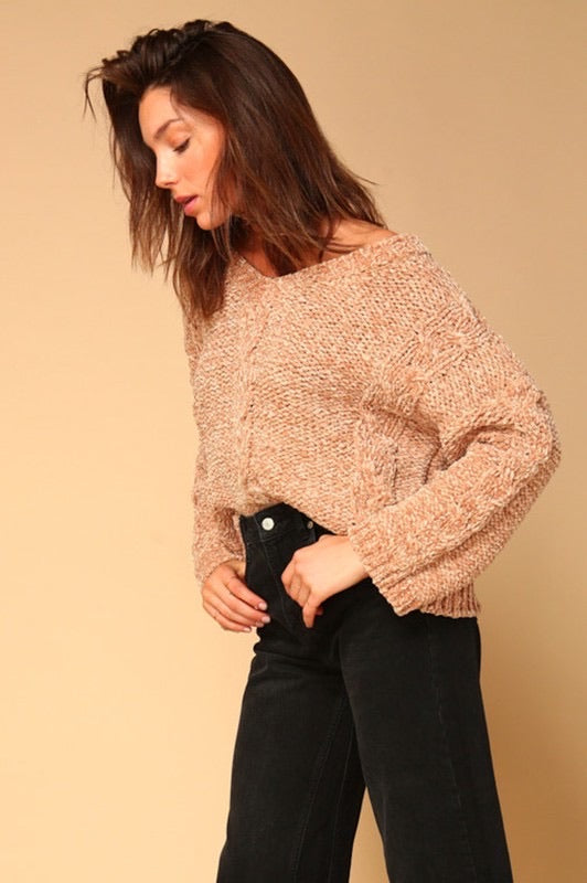 Lane Chenille Sweater
