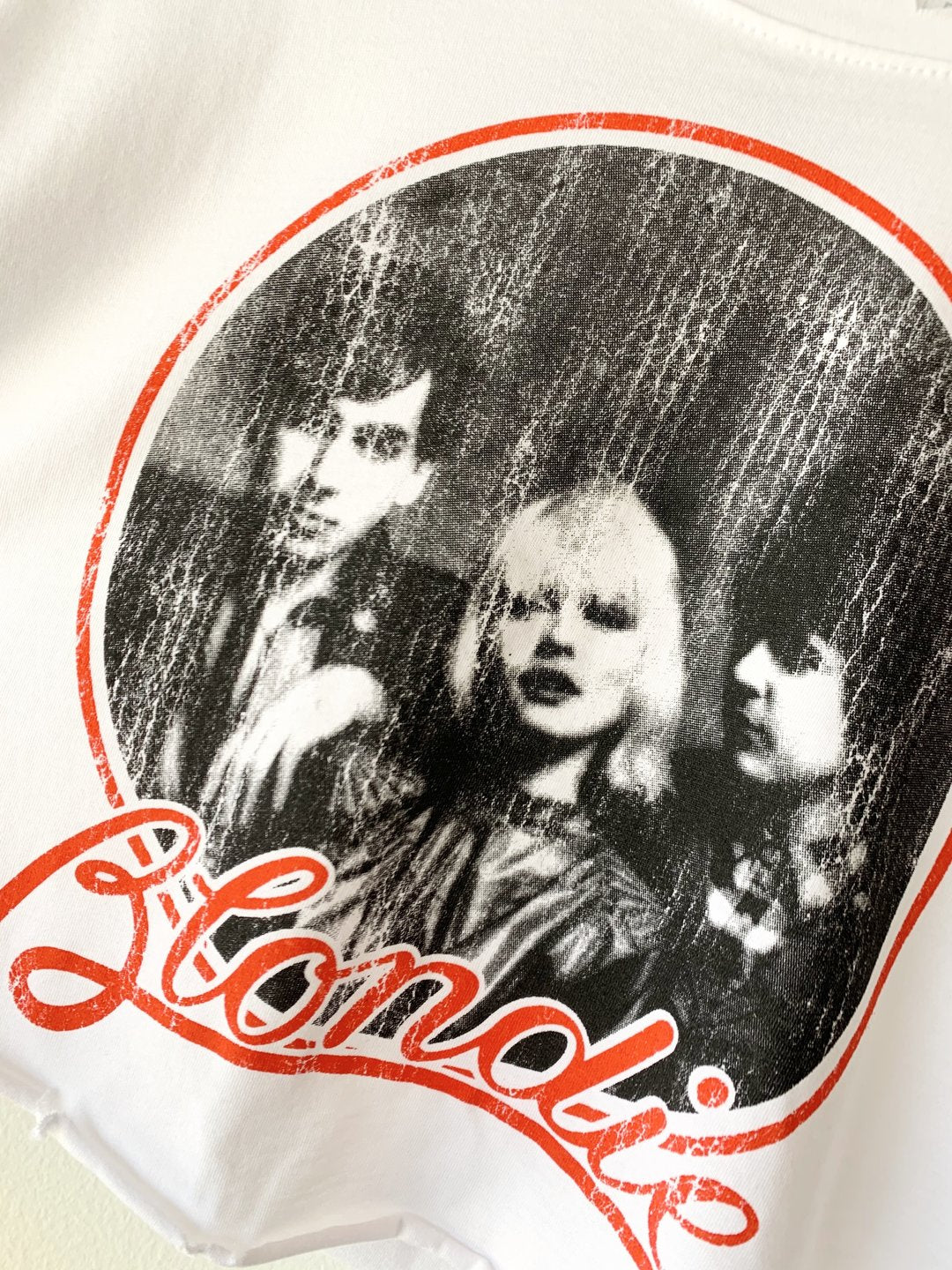 Blondie Crop Tee
