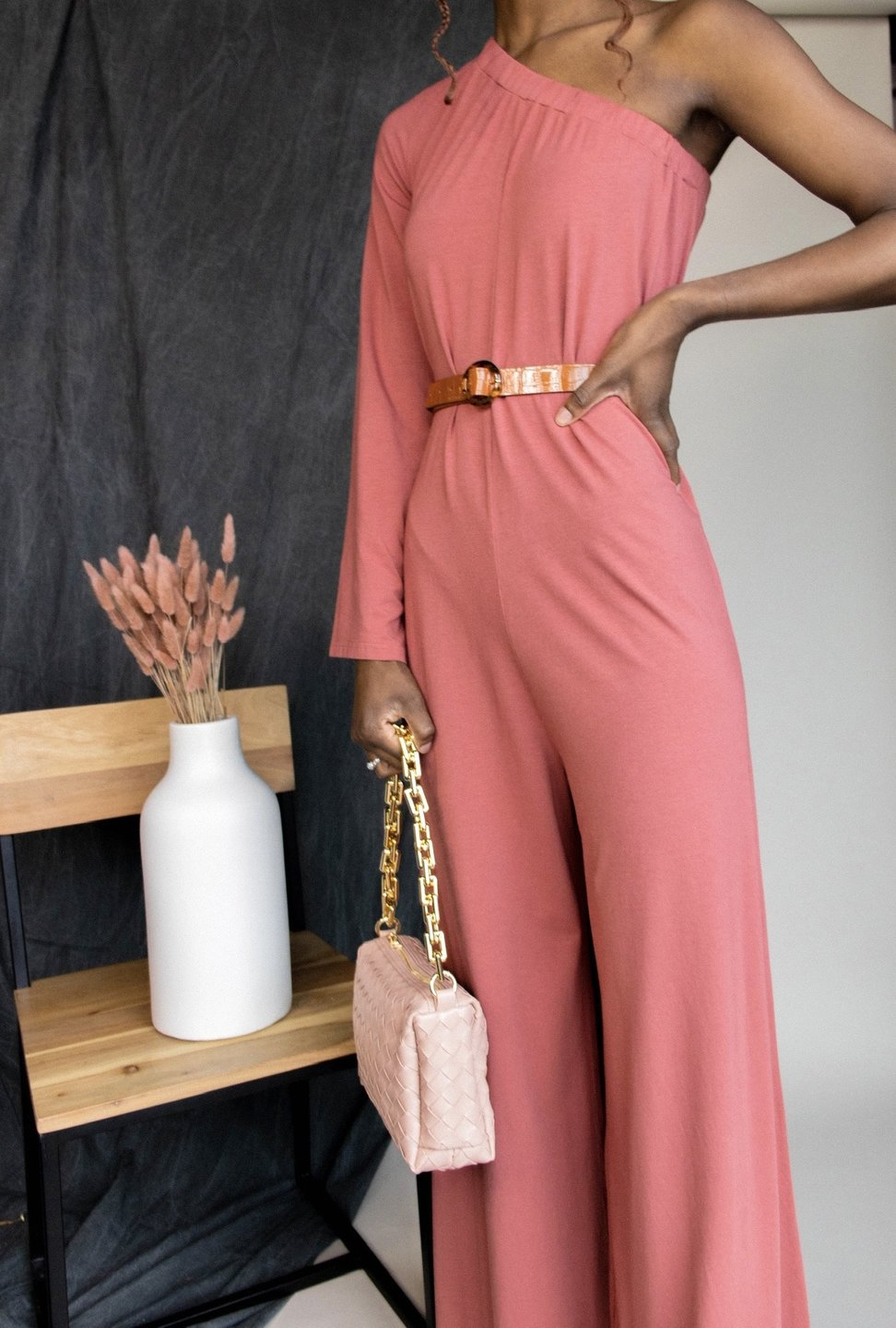 BOBI Shoulder Jumpsuit