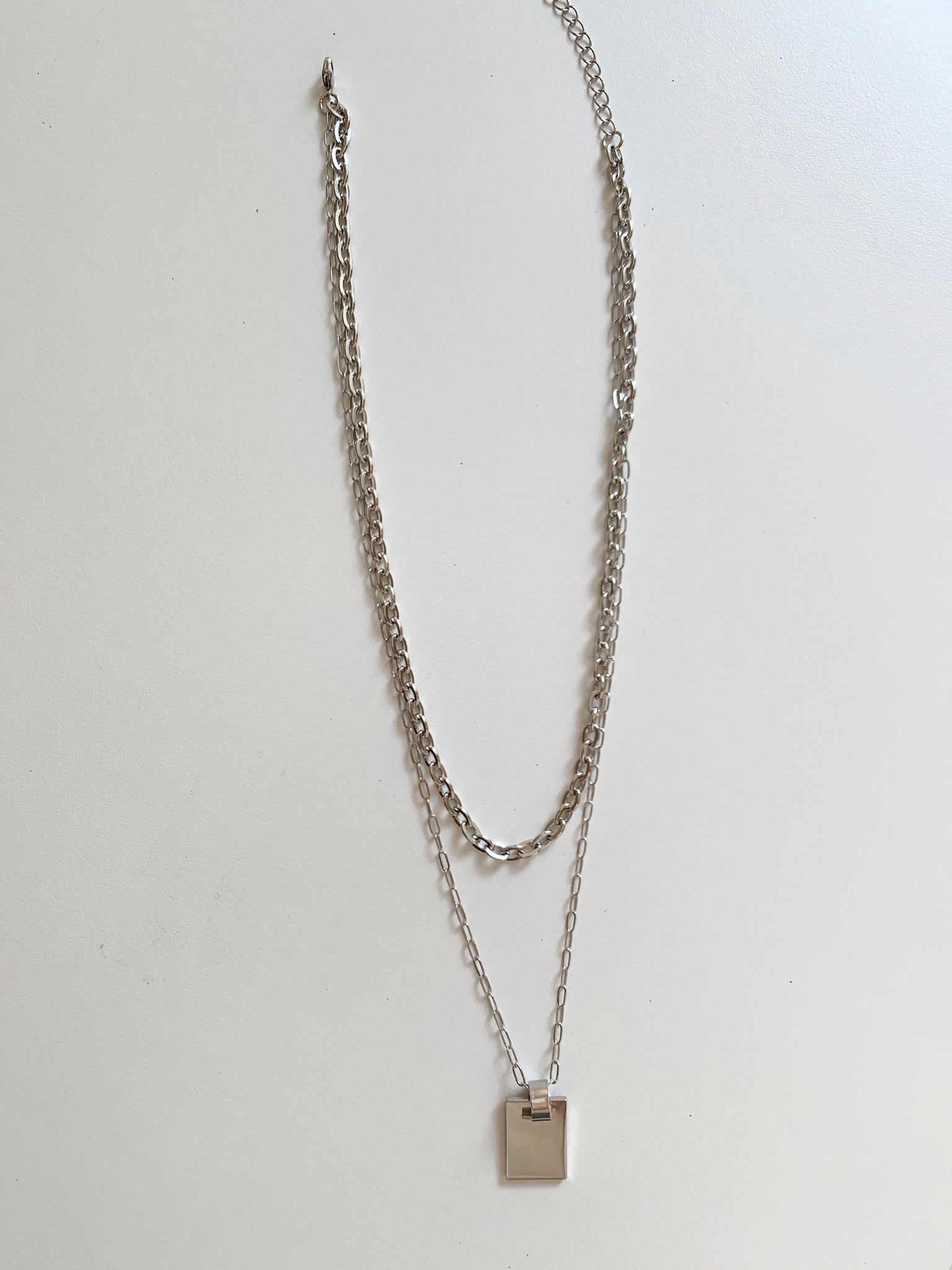 Chain Link Layer Necklace