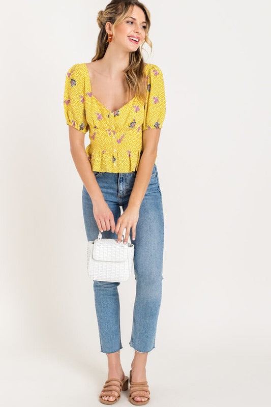 Emmy Puff Sleeve Blouse
