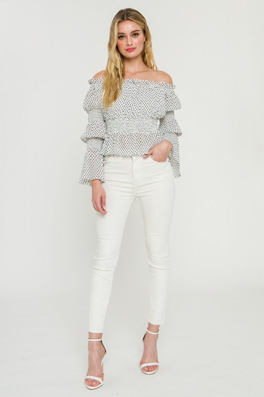 Michele Smock Top