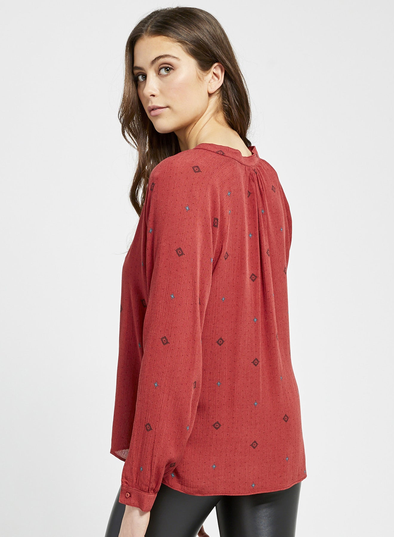 Gentle Fawn Meadow Blouse