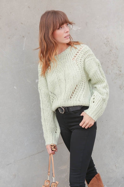 Keri Cable Detail Sweater