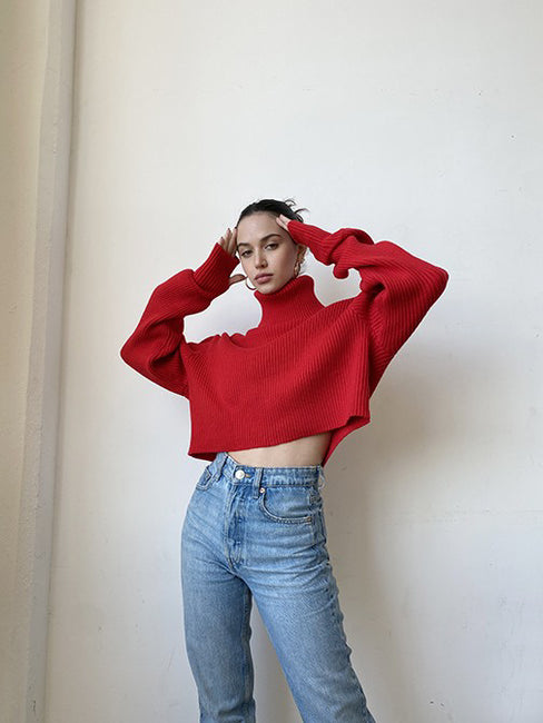 Chief Crop Sweater