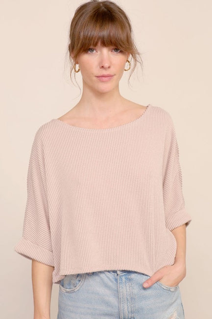 Waverly Knit Semi Crop