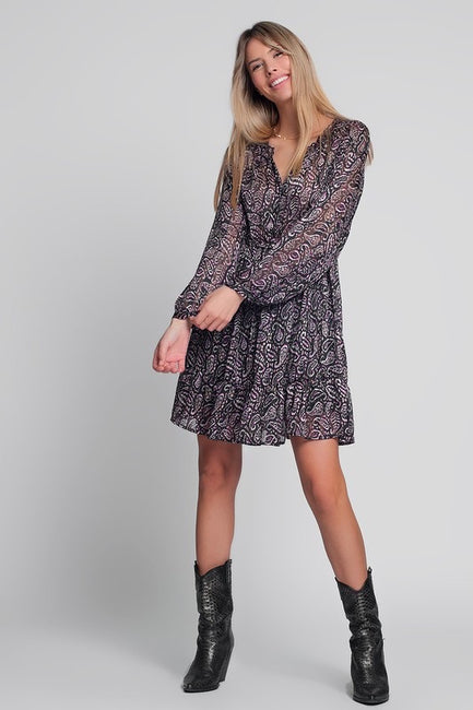 Loma Puff Sleeve Dress