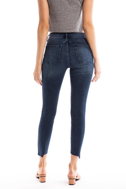 Twisted High Rise Denim