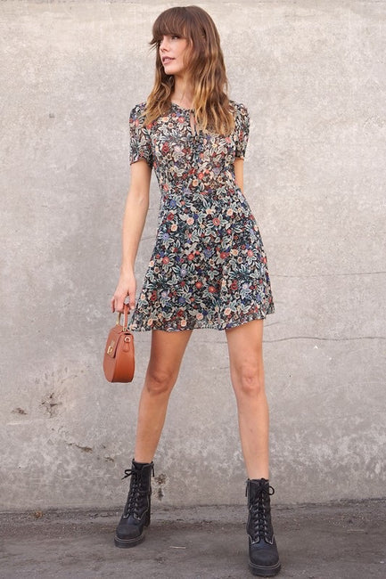 Jaclyn Floral Dress