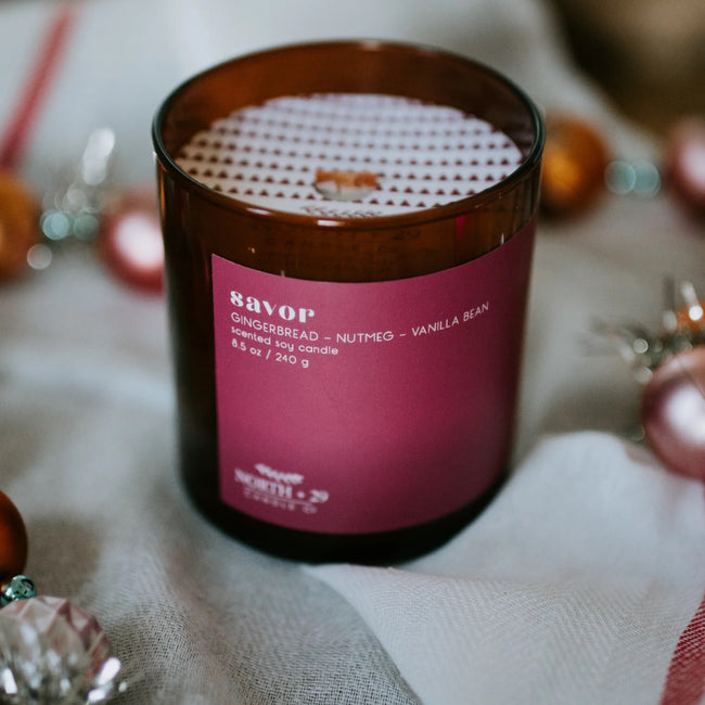 Savor Soy Candle
