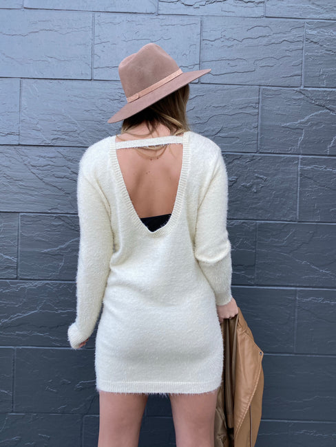 Estrid Open Back Sweater
