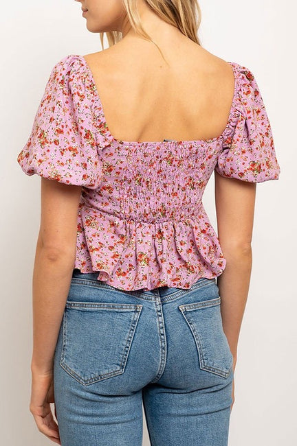 Lena Puff Sleeve Top