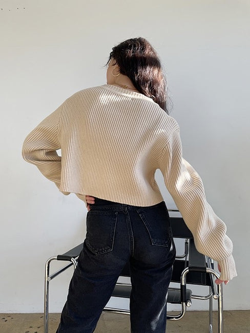Lawrence Crop Sweater