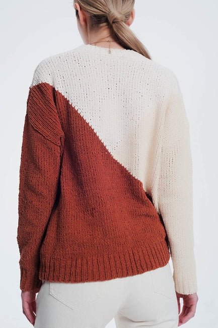 Hazel Colorblock Sweater