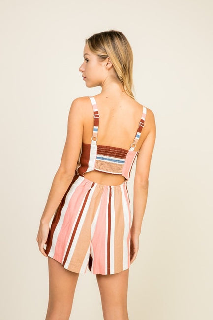 Wynnie Stripe Romper