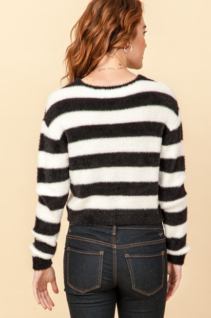 Hold On Tight Stripe Sweater