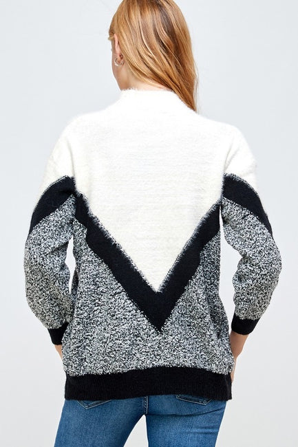 Berkley V Front Sweater