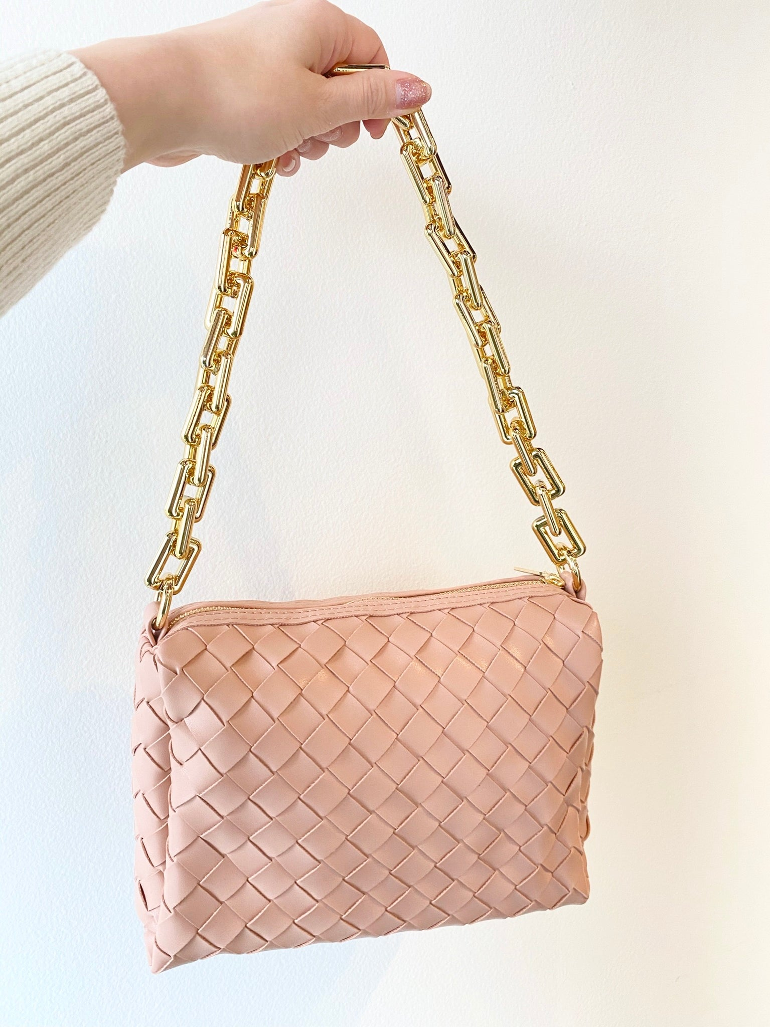 Brandi Braided Clutch