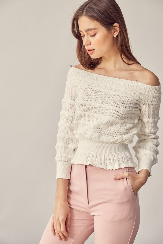 Simone OTS Sweater Top